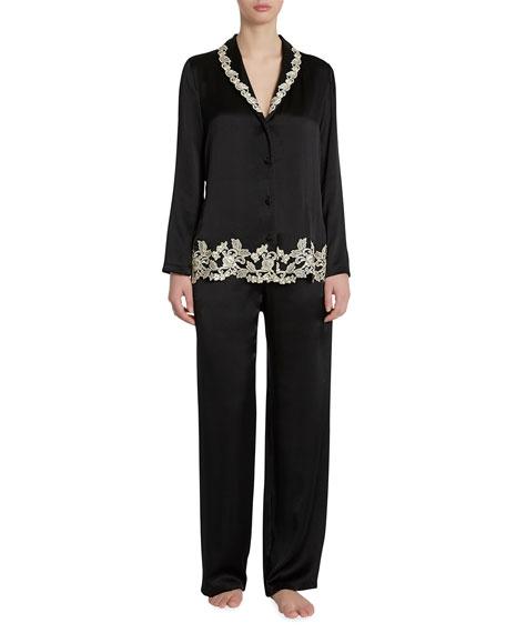 La Perla Maison Long Silk Pajamas