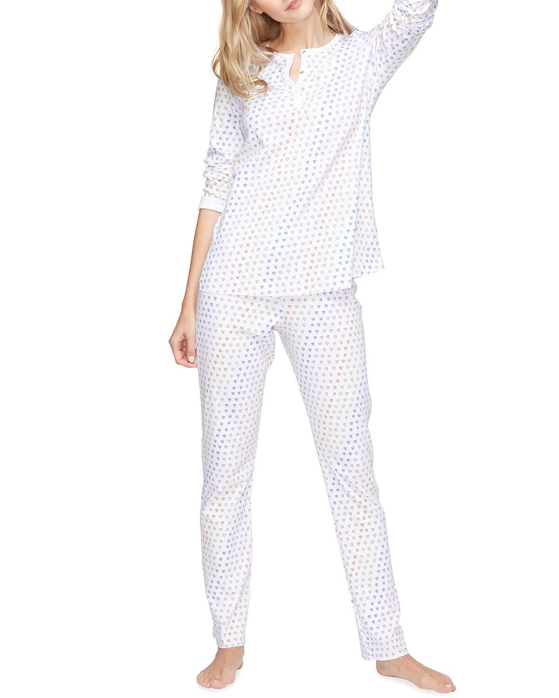 Disco Hearts Pima Cotton Pajama Set