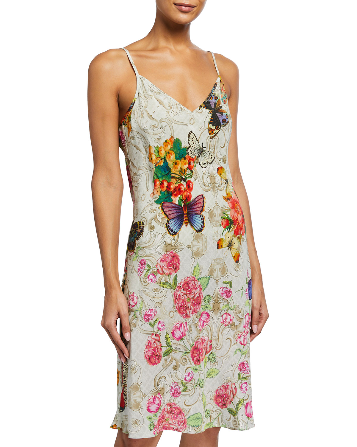 Johnny Was CAITLYN WASHED SILK CHEMISE