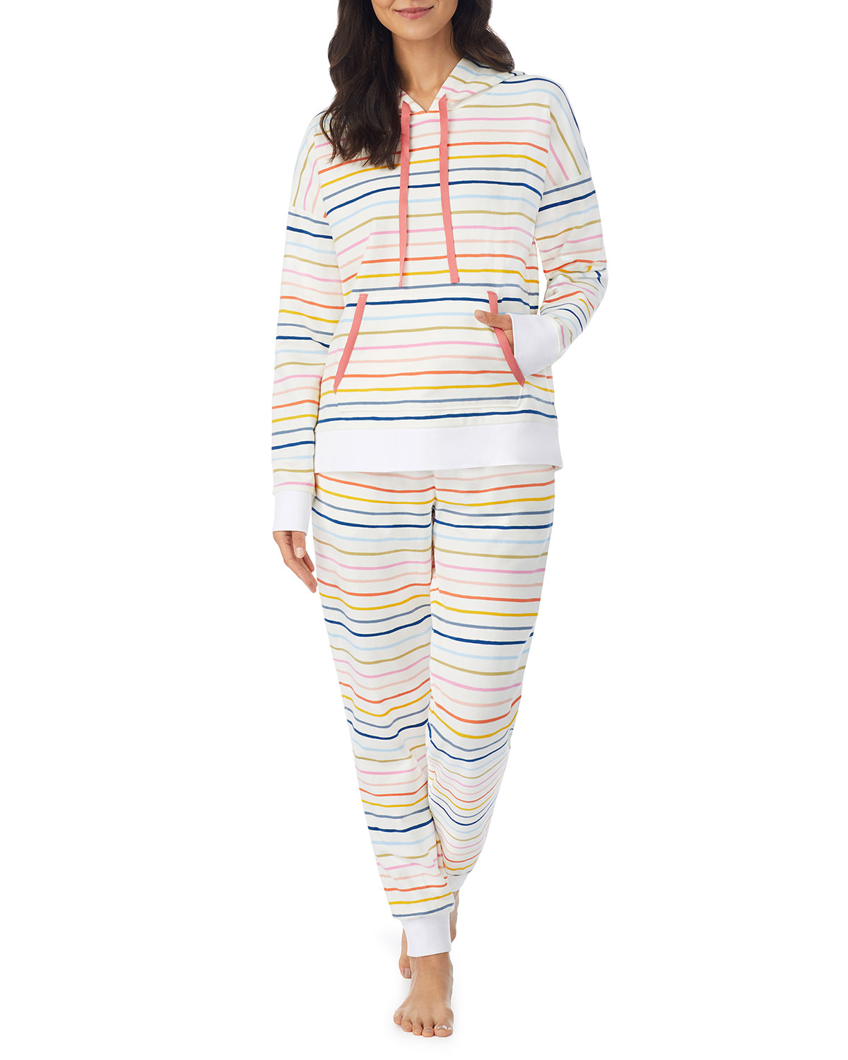 Get In Line Hooded Pullover & Jogger Lounge Set