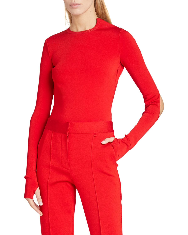 Givenchy 18GG OPEN-BACK BODYSUIT