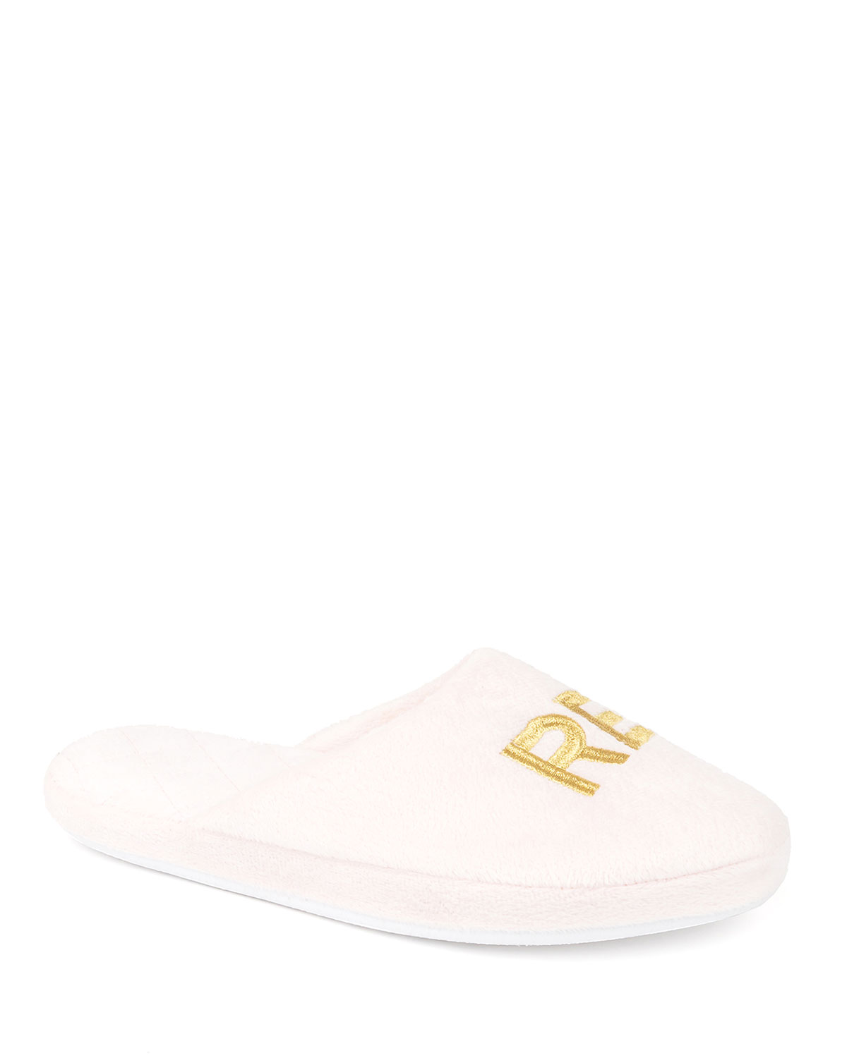 Relax Embroidered Slippers