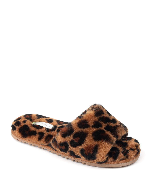 Tahoe Shearling Single Strap Slippers