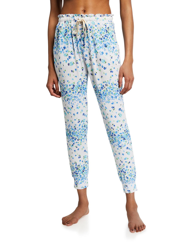 Stripe & Stare Pants FLORAL DRAWSTRING LOUNGE PANTS