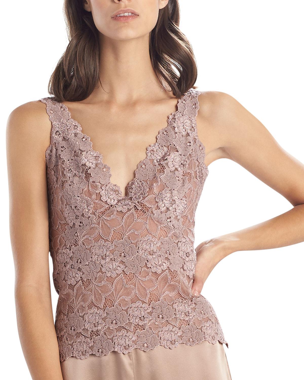 Rose Parfait Essentials Lace Tank