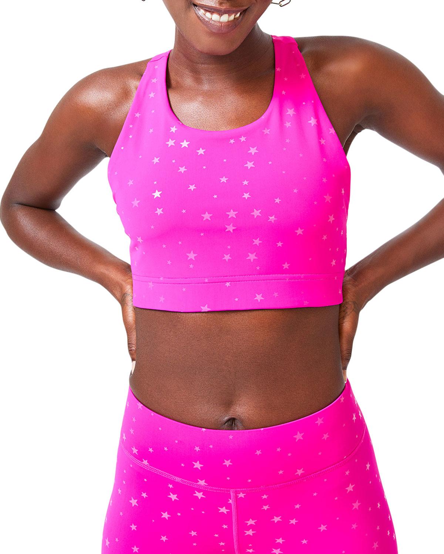 Terez Activewears MINI STAR UPLIFT SPORTS BRA, PINK