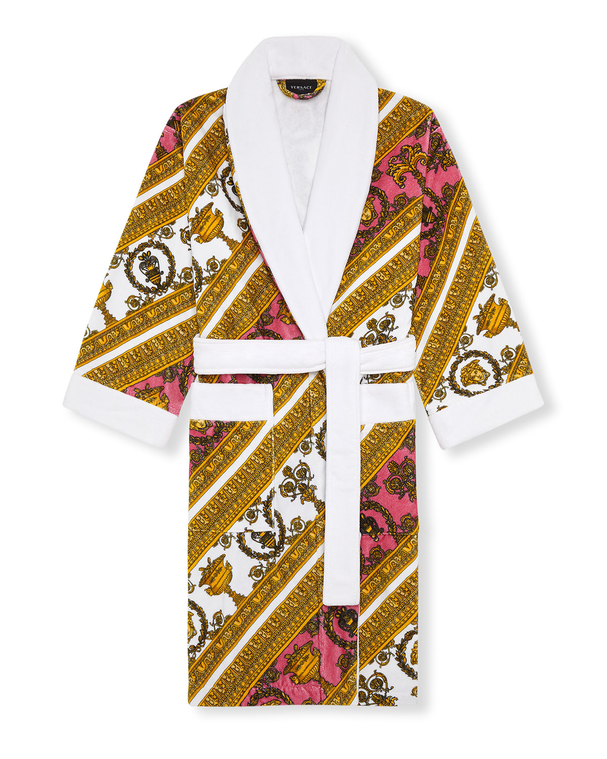 Versace I HEART BAROQUE COTTON ROBE