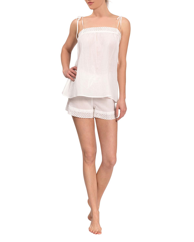 Ivy Poppy Short Pajama Set