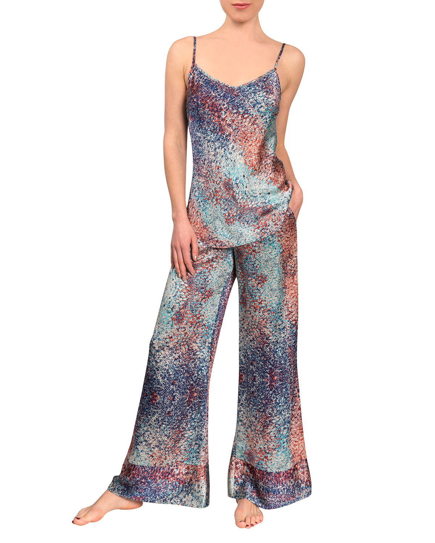 Millicent Tilda Spaghetti-Strap Pajama Set