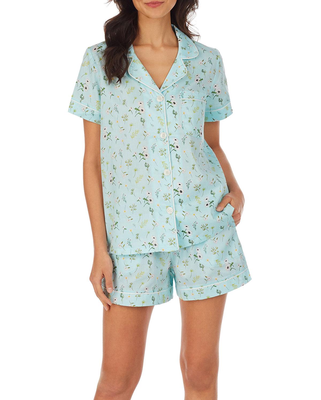 Spring Garden Short Pajama Set