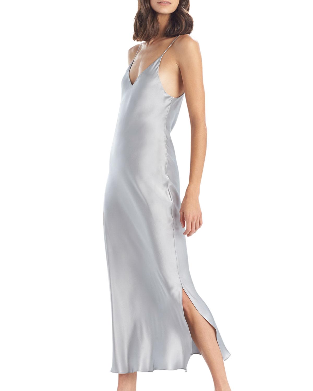 Key Essentials Satin Nightgown