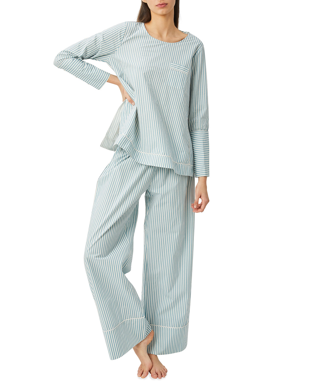 Apri Organic Cotton Striped Pajama Top