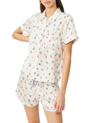 Morgan Lane Tami Top & Bea Shorts Pajama