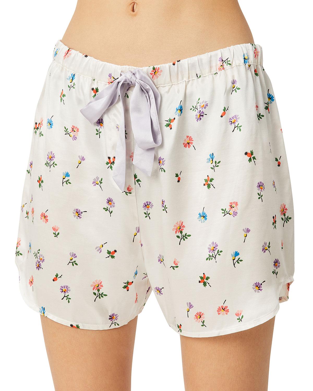 Bea Floral-Print Pajama Shorts