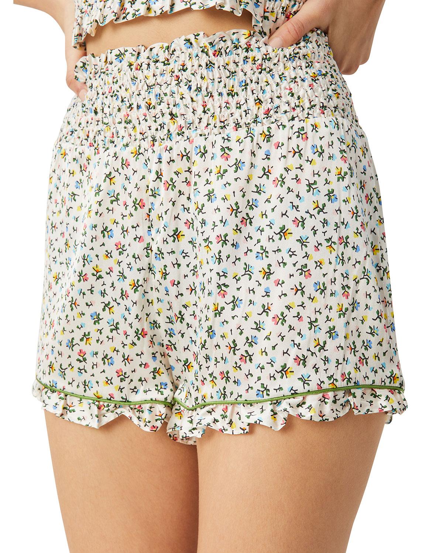 Marta Floral-Print Shorts