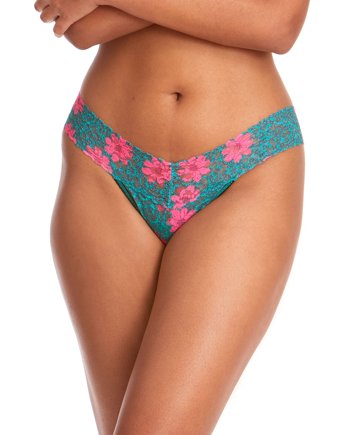 Youthquake Low-Rise Lace Thong