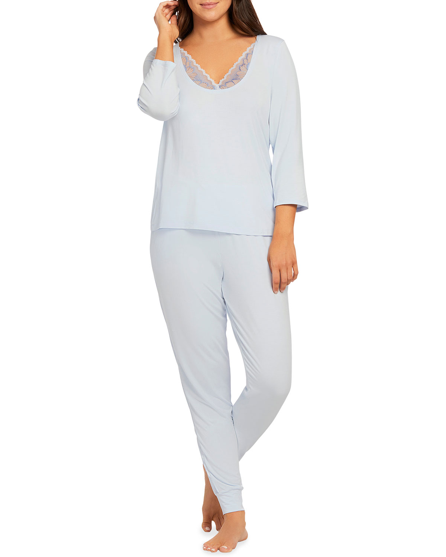 3/4-Sleeve Pajama Set