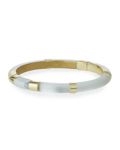 Colorblock Crystal Hinge Bracelet