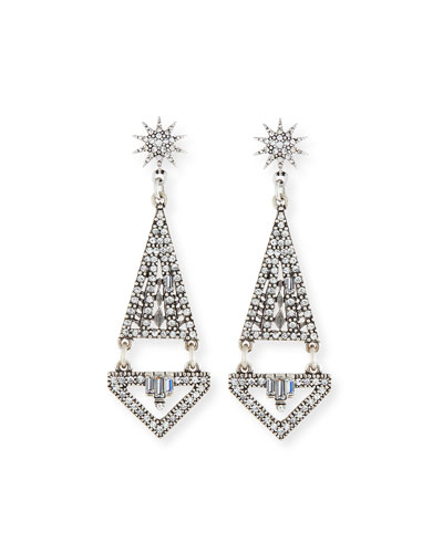 Electra Crystal Statement Earrings