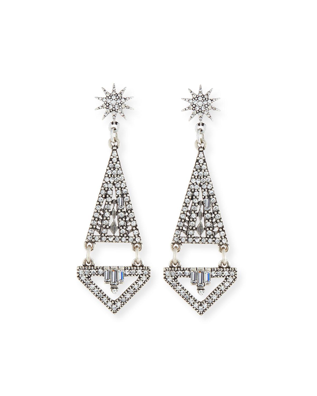 Electra Crystal Statement Earrings