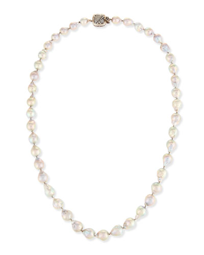 Mixed Baroque Pearl Necklace, 32