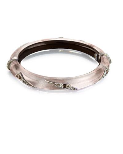 Origami Hinge Bracelet, Silver