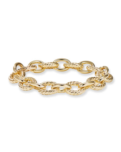 Large Oval Link Chain Bracelet