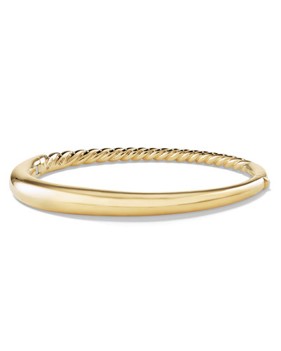 6.5mm Pure Form Smooth 18K Bracelet