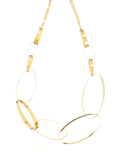 Mega Gloss 14K Gold Statement Necklace