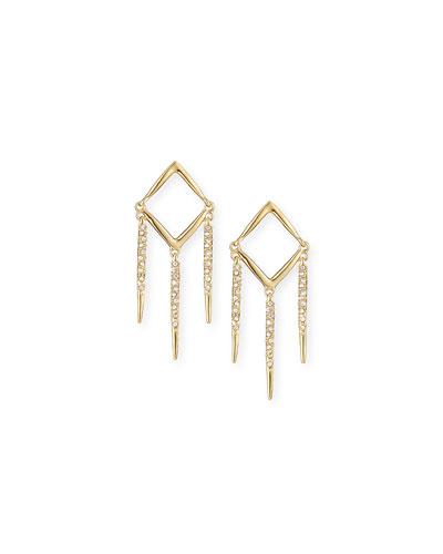 Miss Havisham Open Dangle Earrings