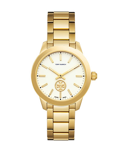 Collins Golden Two-Hand Watch