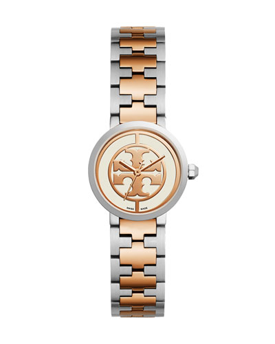 Reva Two-Tone Three-Hand Watch