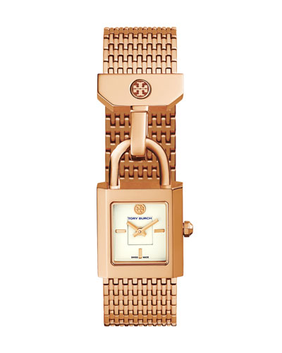 Surrey Rose-Golden Two-Hand Watch