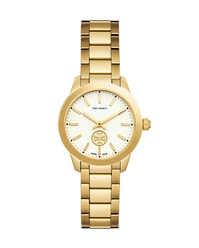 32mm Collins Golden Two-Hand Watch