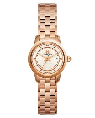 The Tory Classic Bracelet Watch, Rose Golden