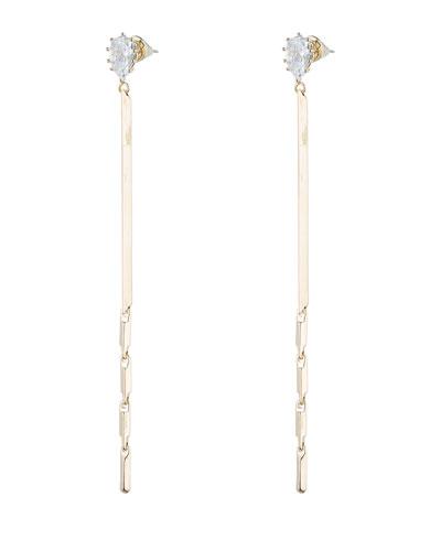Glint Linear Drop Earrings