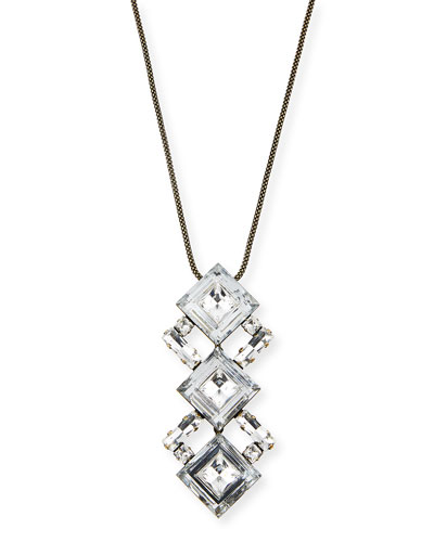 Dylan Crystal Pendant Necklace