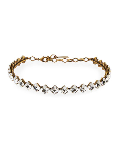 Drew Crystal Choker Necklace