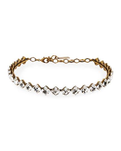 Drew Crystal Choker Necklace