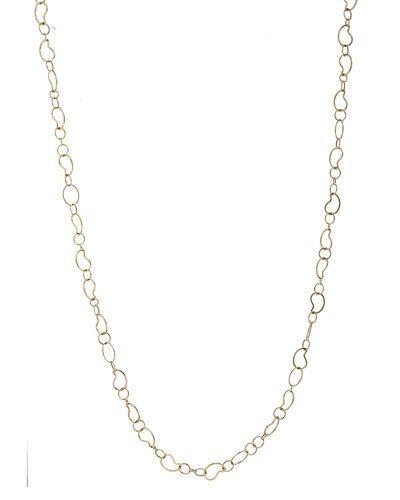 18k Classico Long Kidney Chain Necklace, 41
