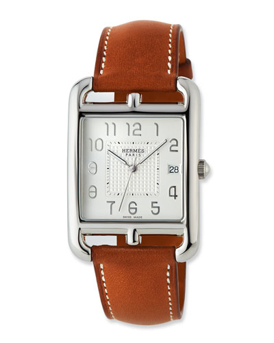 Cape Cod TGM Watch with Barenia Leather Strap