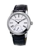 42mm Classics Manufacture Watch w/Black Alligator Strap