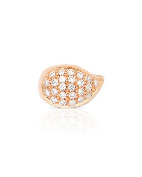 Tamara Comolli SIGNATURE DROP 18k Rose Gold Diamond Clasp