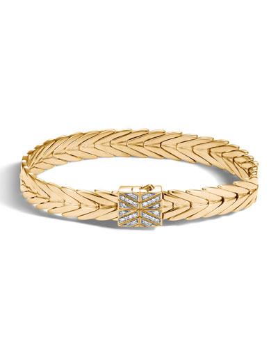 Quick Look John Hardy 11mm Modern Chain 18k Gold Bracelet