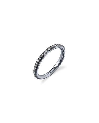 Pavé Diamond Stacking Band Ring, Size 8.5