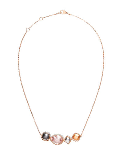 Sadie Four-Stone Necklace