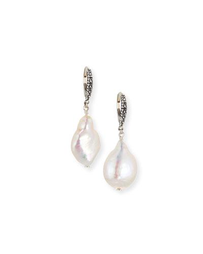 eb074f4e6 Quick Look. Stephen Dweck · Baroque Pearl Drop Earrings