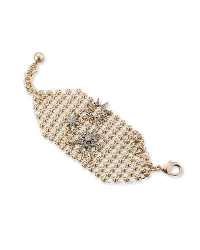 Radiant Crystal Mesh Bracelet