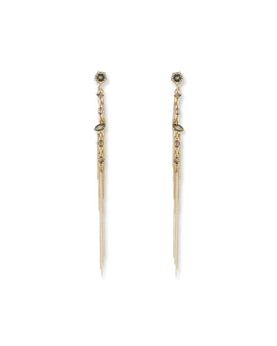 Chain Fringe Drop Earrings
