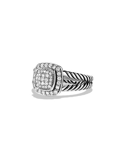 Petite Albion Ring with Diamonds